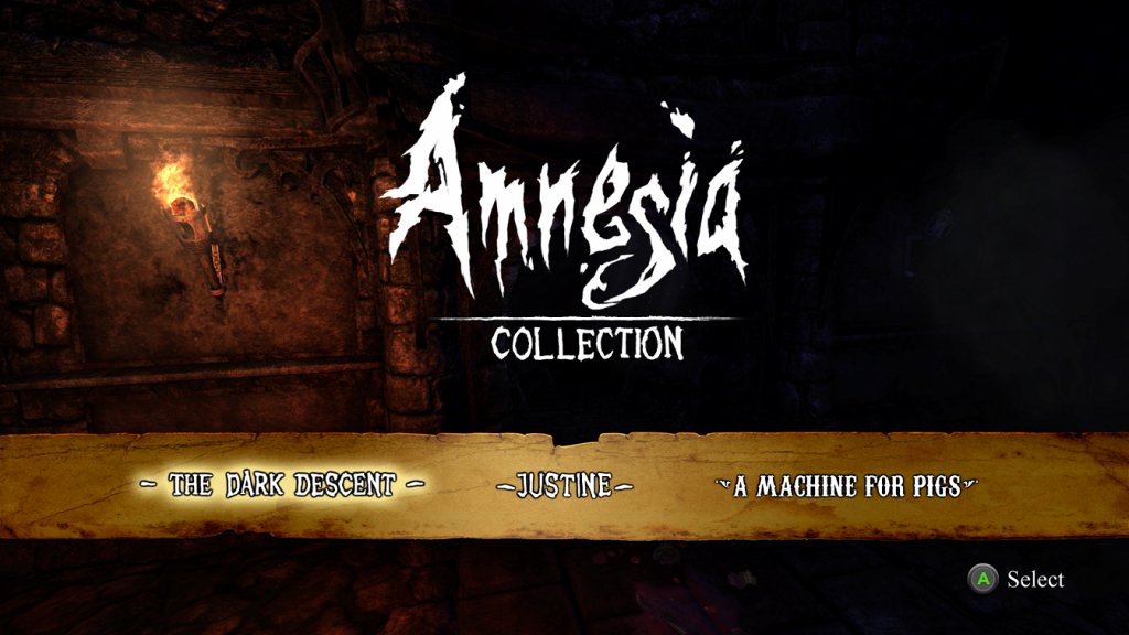 Amnesia Collection Title