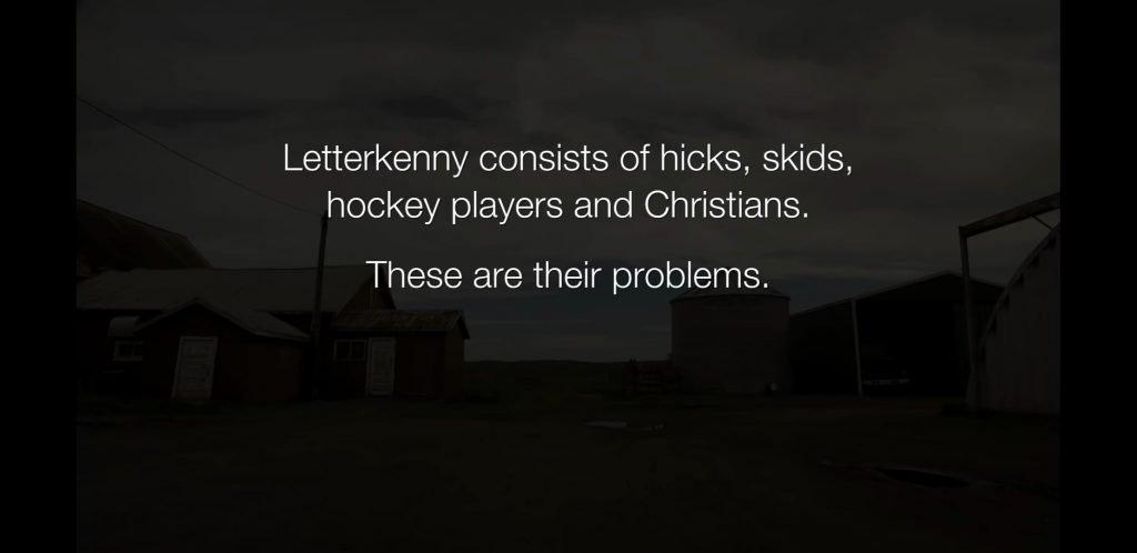 Letterkenny Hicks Skids