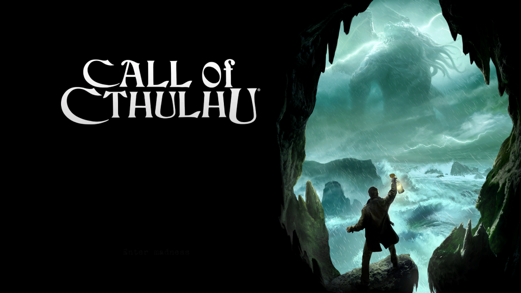 Call of Cthulu Title Screen