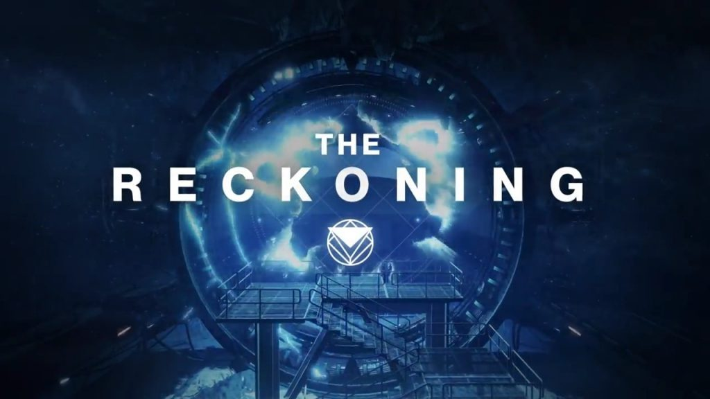 Destiny 2 The Reckoning Title Screen