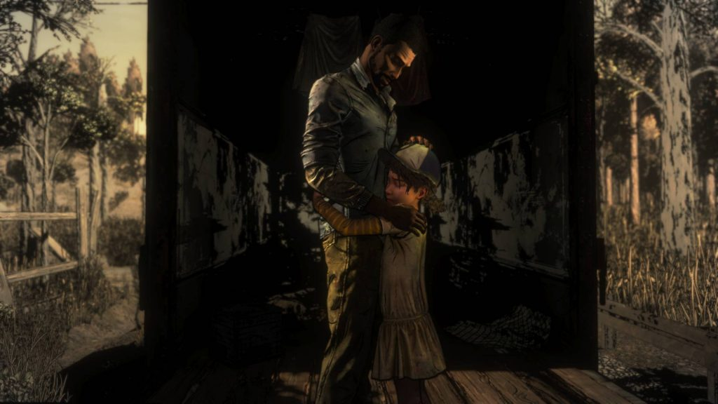 Walking Dead Final Season Episode 3 Young Clementine and Lee