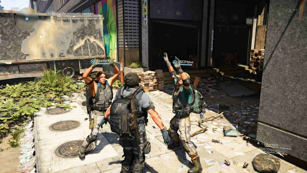 The Division 2 T-Pose