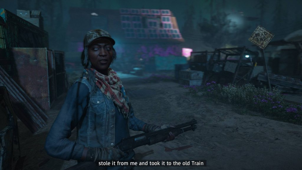 Far Cry New Dawn Blind Character