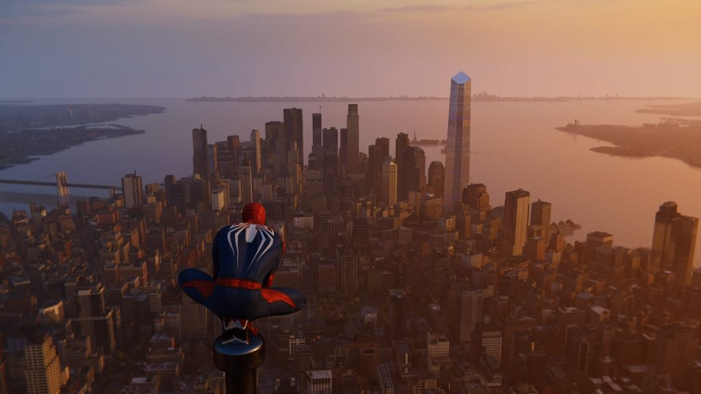 Spider-Man PS4 Highest Point in the City