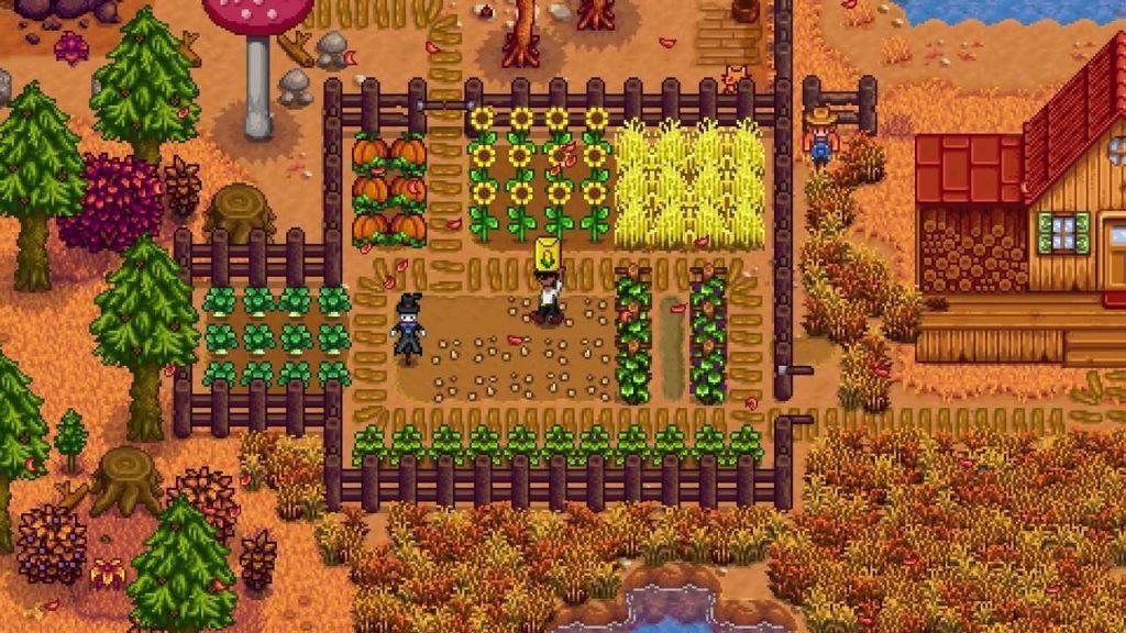Stardew Valley Farm in Fall