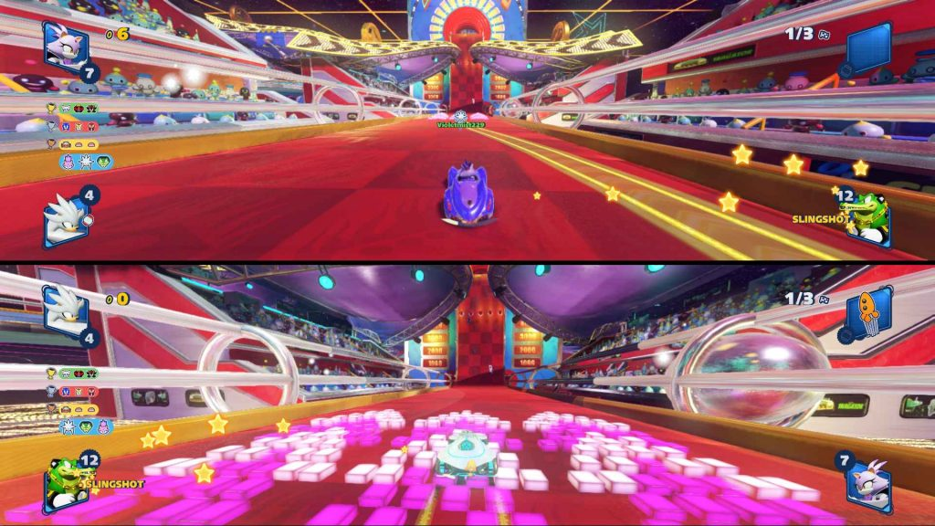 Team Sonic Racing Split Screen Gameplay