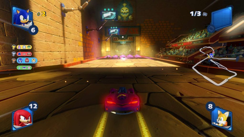 Team Sonic Racing Temple Course
