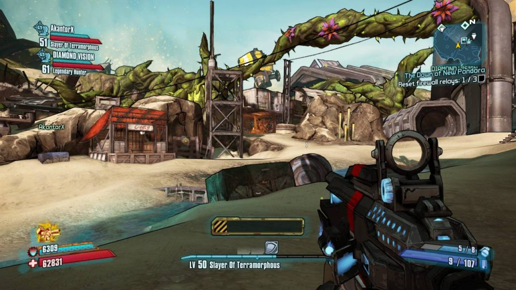 Borderlands 2 Commander Lilith New Area