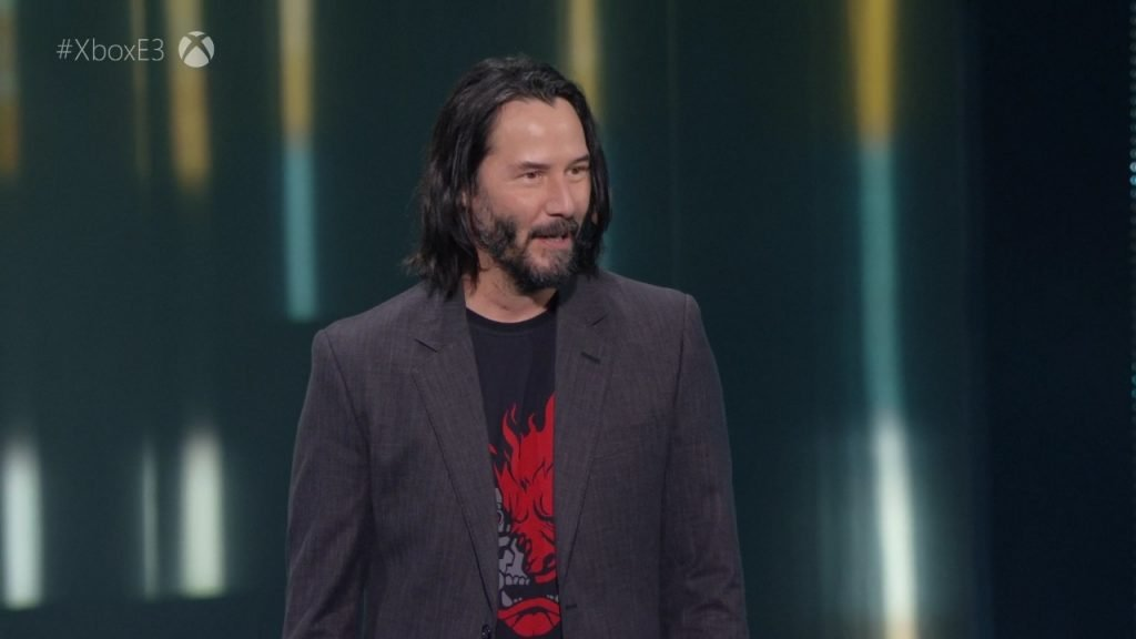 Keanu Reeves at Xbox E3 2019 Briefing