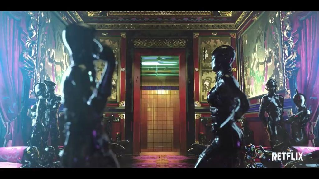 The Witness Love Death and Robots