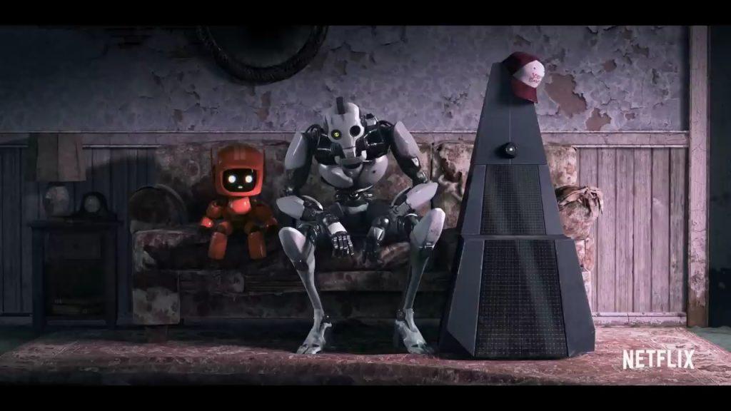 Three Robots Love Death and Robots