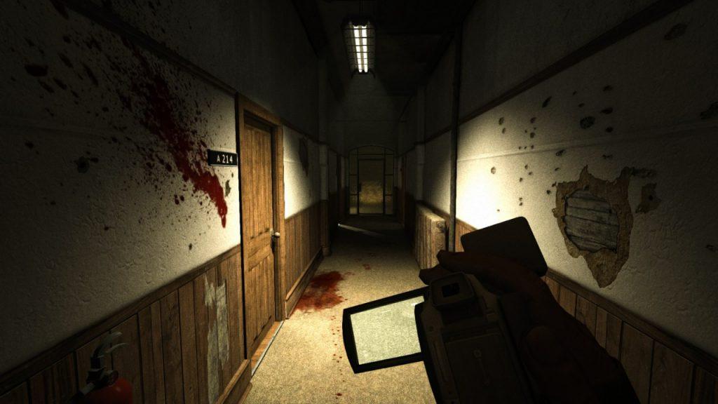 Outlast Bloody Hallway