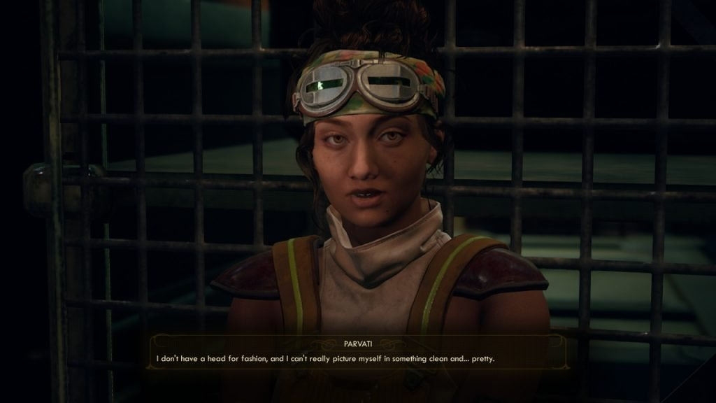 Pavarti Best Companion Outer Worlds