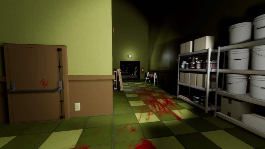 Bloody Hallway in Superliminal